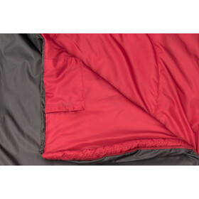 CAMPZ Trekker Light 300 XL Makuupussi, anthracite/red